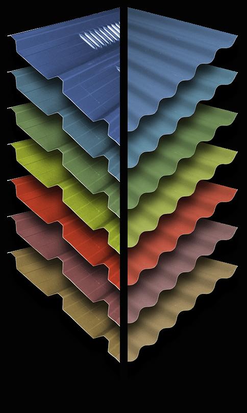 cladding colours
